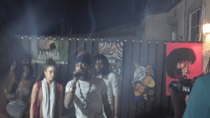 Figure 3: from left to right: Kelissa, Dre Island and Lutan Fyah