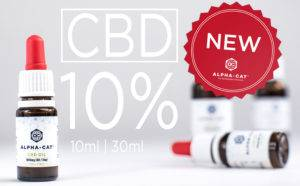 Read more about the article Alpha-cat CBD oil 10% !