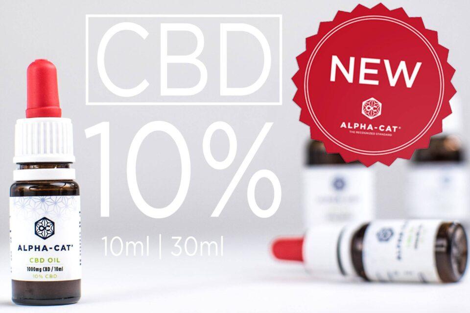 Alpha-cat CBD oil 10% !