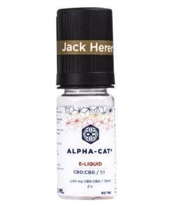 E- Liquide Jack Herer CBD:CBG / 1:1