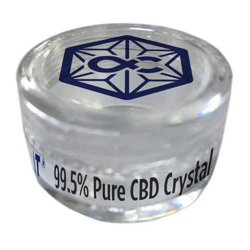 Purifikované CBD krystaly (99,5%)