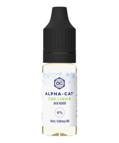 Alpha-cat CBD E-liquid 6%
