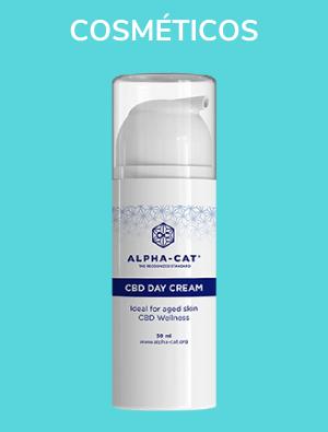 Alpha cat Productos cosmeticos de CBD