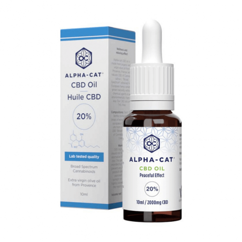 Broad Spectrum 2000mg CBD oleje (20%) – 10ml