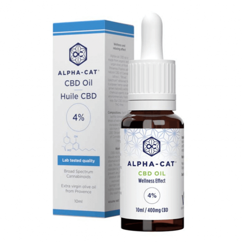 Broad Spectrum 400mg CBD Oil (4%) – 10ml