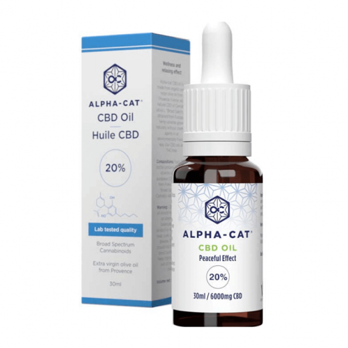 Broad Spectrum 6000mg CBD oleje (20%) – 30ml